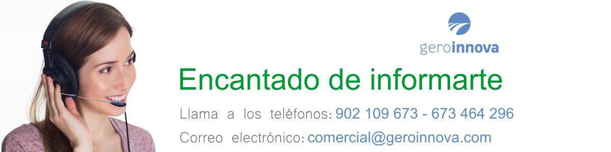 Contacto Residencia de mayores Geroinnova Madrid